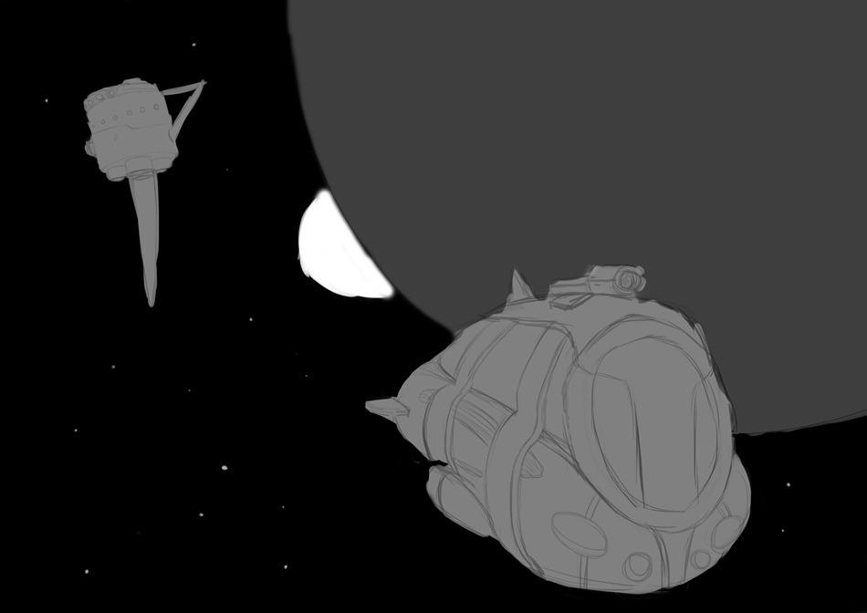 Illustration SpaceOpera 2