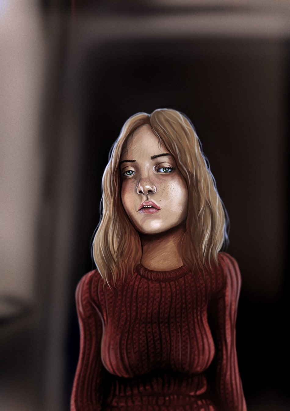 speedpainting Girl_out